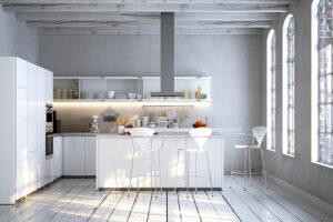 Küche – hoch in der Wohnraumhierarchie