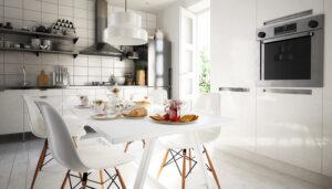 Modernes Wanddesign für der Küche