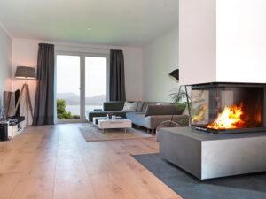 Kamin im Wohnzimmer: Ein funktionales Design-Objekt