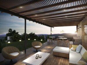 Terrassenüberdachung - Schutz vor Sonne und Regen