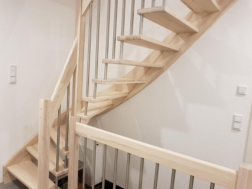 Treppe kaputt und nun